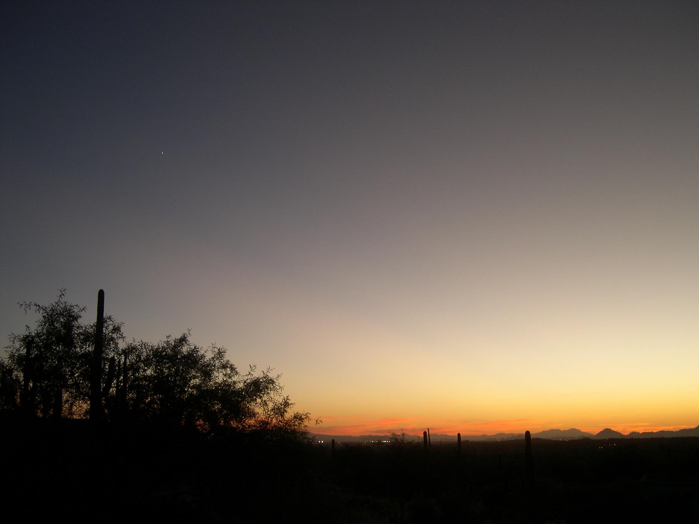 Venus sunset
